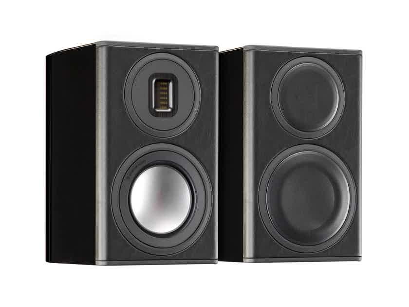 Monitor Audio Platinum PL100-II Bookshelf Speakers (Black): EXCELLENT B-Stock; 4 Year Warranty*; 35% Off