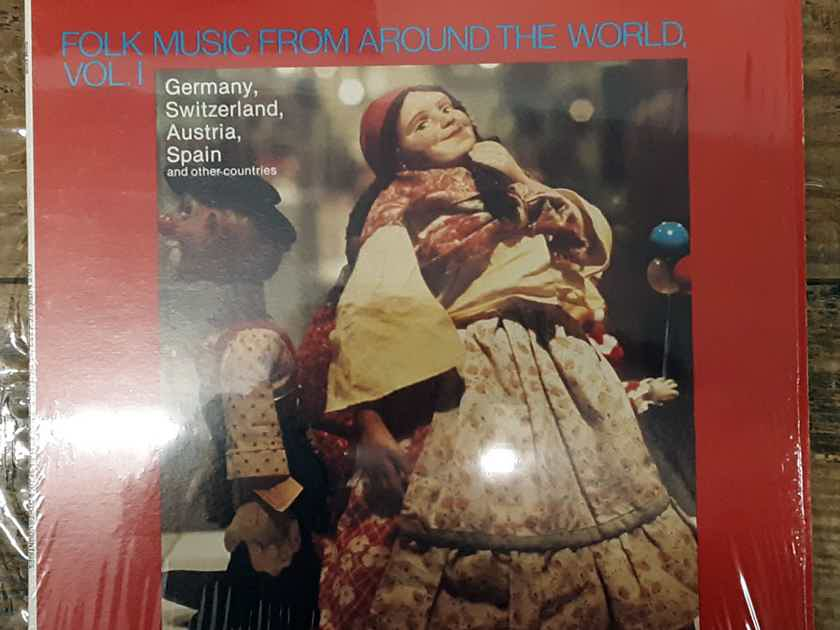 Folk Music From Around The World, Vol. 1 - Various Artists 1978 NM Vinyl LP SUMMIT / CMS Records SUM 5026