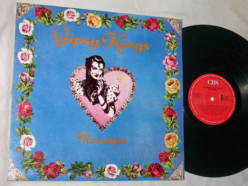 GIPSY KINGS - MOSAIQUE  - - RARE ORIG 1989 LP - CBS VENEZUELA - AUDIOPHILE