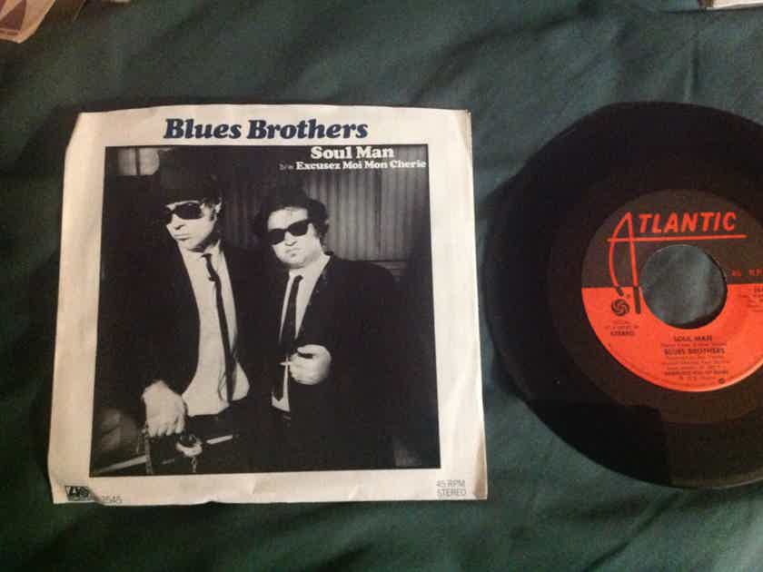 Blues Brothers - Soul Man 45 Single With Picture Sleeve Atlantic Records Vinyl NM