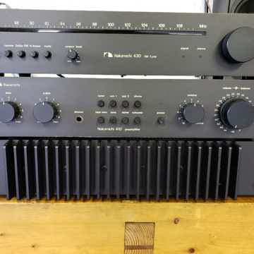 Nakamichi 410/420/430 Mini System