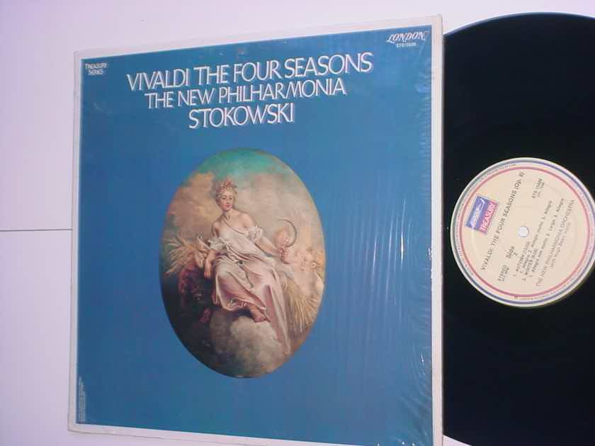 VIVALDI The Four Seasons Stokowski lp record treasury series London sts15539