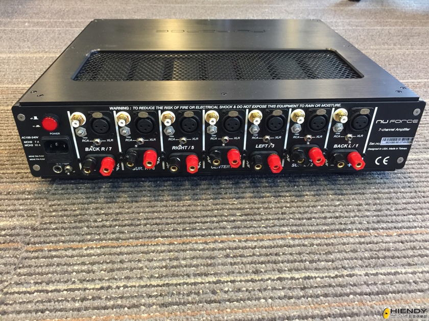 NuForce MCH300SE C7 7-channel amp for sale