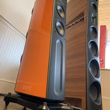Raidho D2.1 - Custom Orange Finish - Adjustable Diamond...