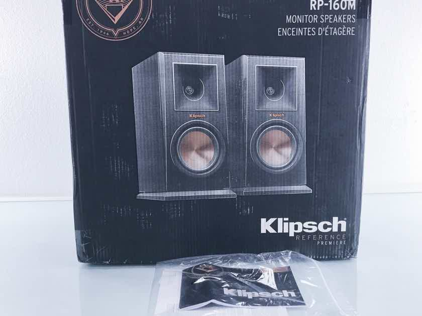 Klipsch  RP-160M Bookshelf Speakers; Pair (2605)