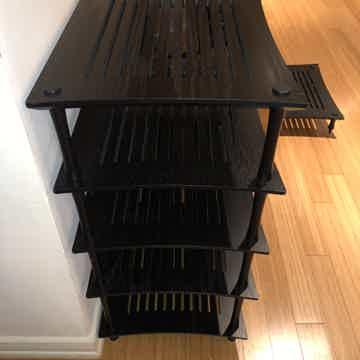 Quadraspire SVT Rack Stands - Black on Black