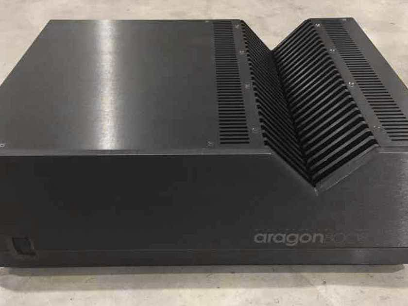 ARAGON 8008 by MONDIAL Dual Mono Amplifier, 200 watts in 8 Ohms & 400 watts in 4 Ohms