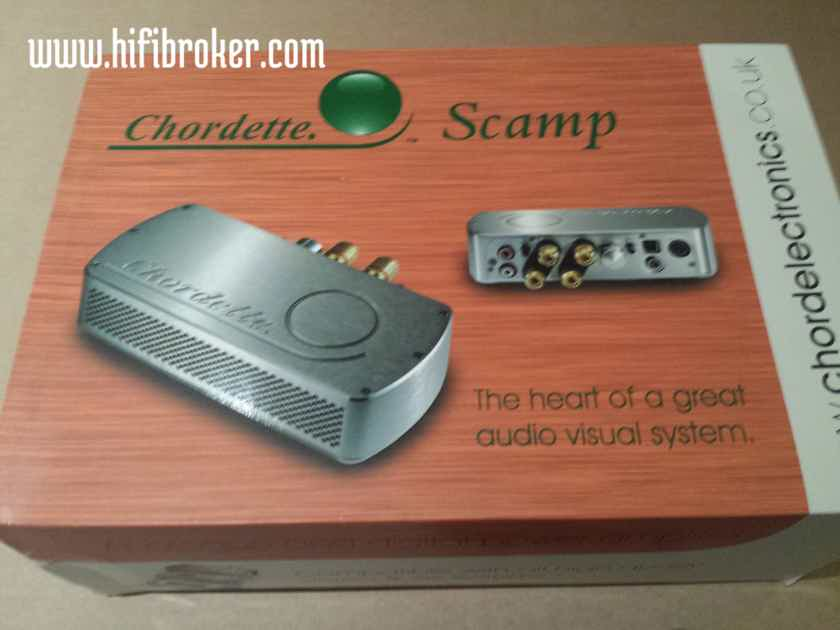Chord Electronics Ltd. Chordette Scamp