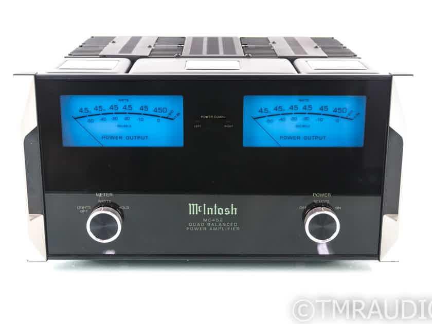 McIntosh MC452 Stereo Power Amplifier; MC-452 (1/7) (19972)