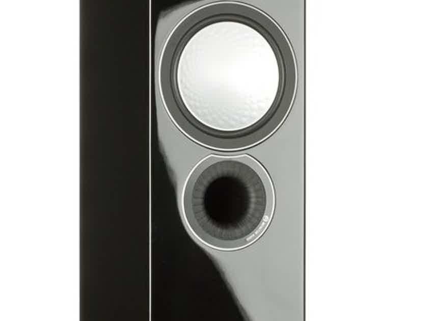 Monitor Audio SILVER 6 Floorstanding Loudspeakers - Piano Black Gloss