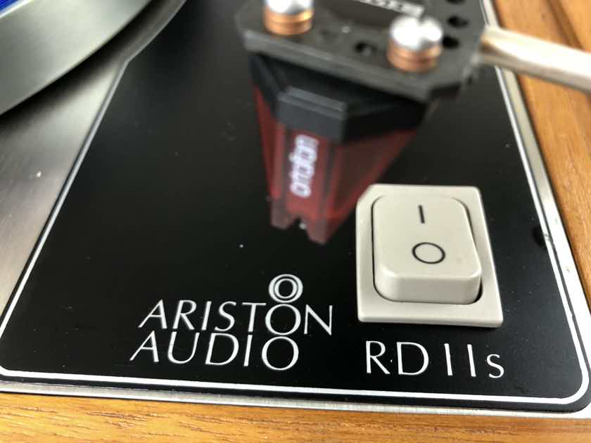 Ariston Audio RD-11s with New Ortofon Red Cartridge and SME Tonearm