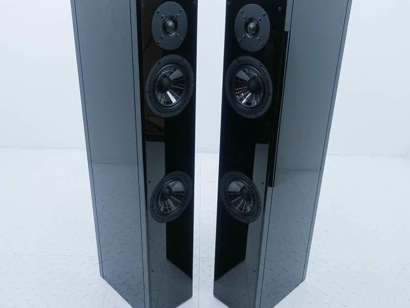 Vienna Acoustics Mozart Grand SE Floorstanding Speakers Gloss Black Pair; Symphony Edition (13740)