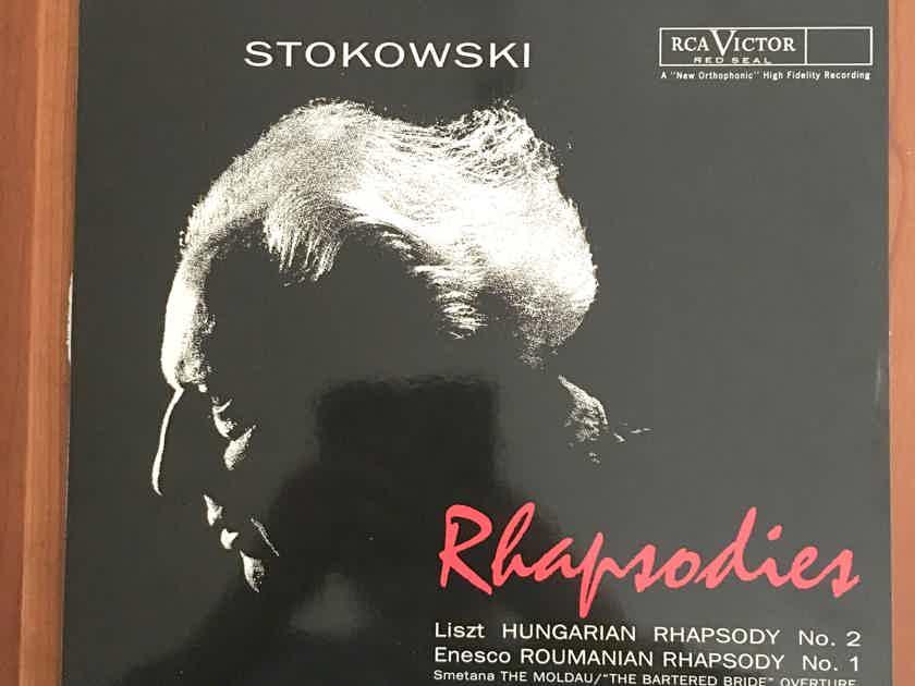 "AUDIOPHILE: CLASSIC RECORDS 180g RE RCA LSC-2471 Stokowski ""Rhapsodies""... $20"