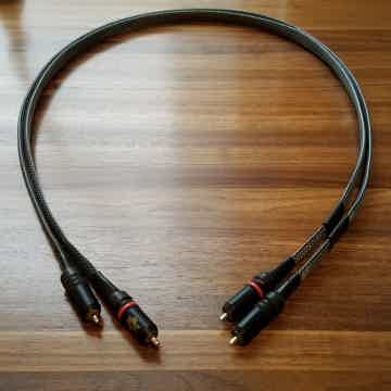 AG2/2, 1 Meter, Silver, RCA Interconnects