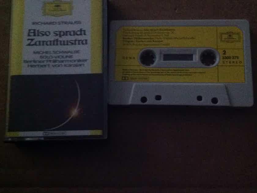 Herbert Von Karajan - Strauss Also Sprach Zarathrathustra DGG Pre Recorded Cassette