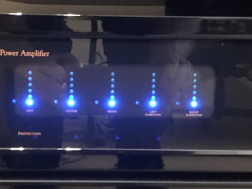 Audio Control Pantages G3 5-Channel Home Theater Power Amplifier
