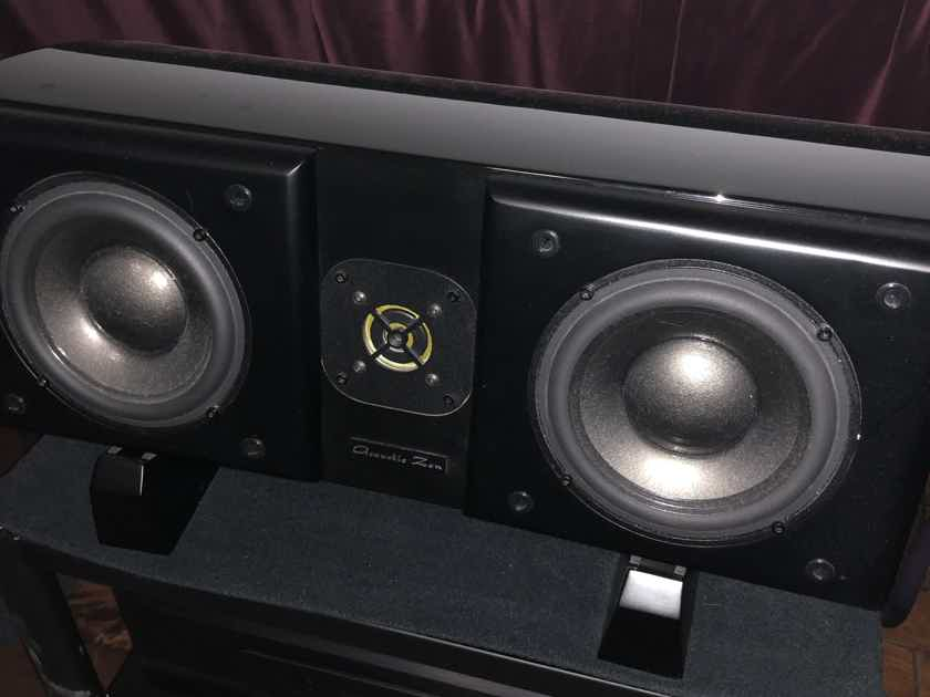 Acoustic Zen Adagio Jr. Center Channel Speaker (piano black)