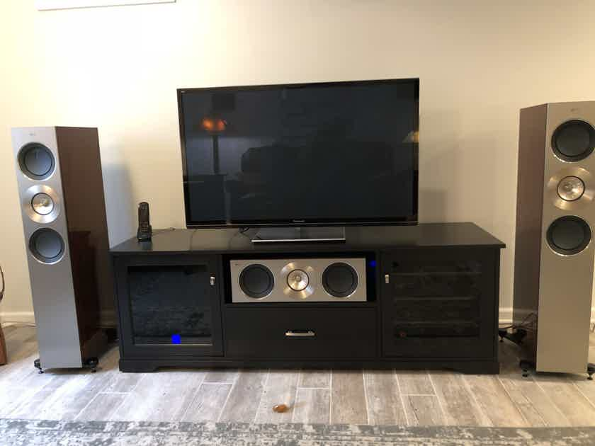 KEF Reference 3 Rosewood (some cabinet damage)