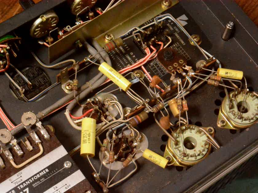 Luxman MQ-60 stereo tube amplifier, input volt 100V spec * can change to 71A, 45 PP tube amp