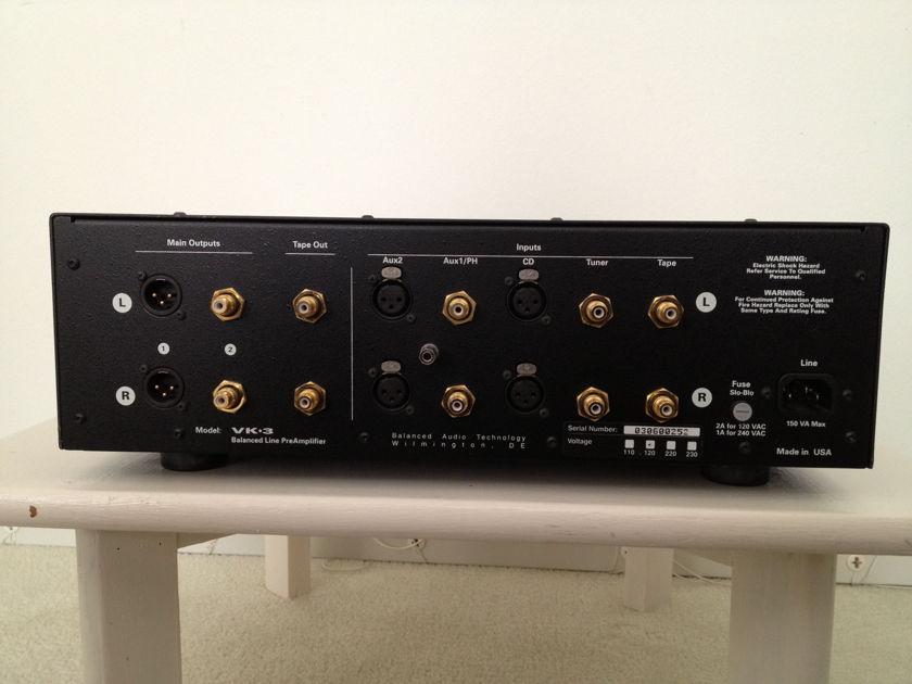 BAT Balanced Audio Technology VK-3i  with NOS tubes and Phono card
