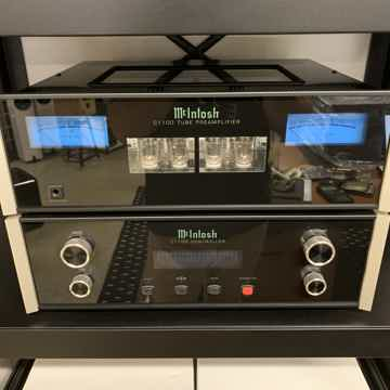 McIntosh C1100 Tube Preamplifier  and Phono Stage C1100...
