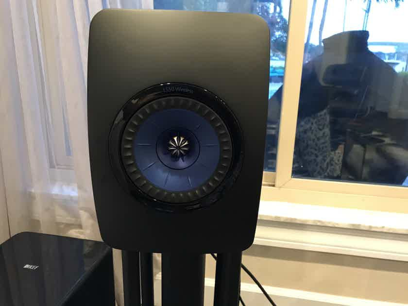 KEF LS50 Wireless with Stands