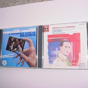 Andre Previn 2 cd's conducts Gershwin EMI And a different kind of blues  Shelly Manne