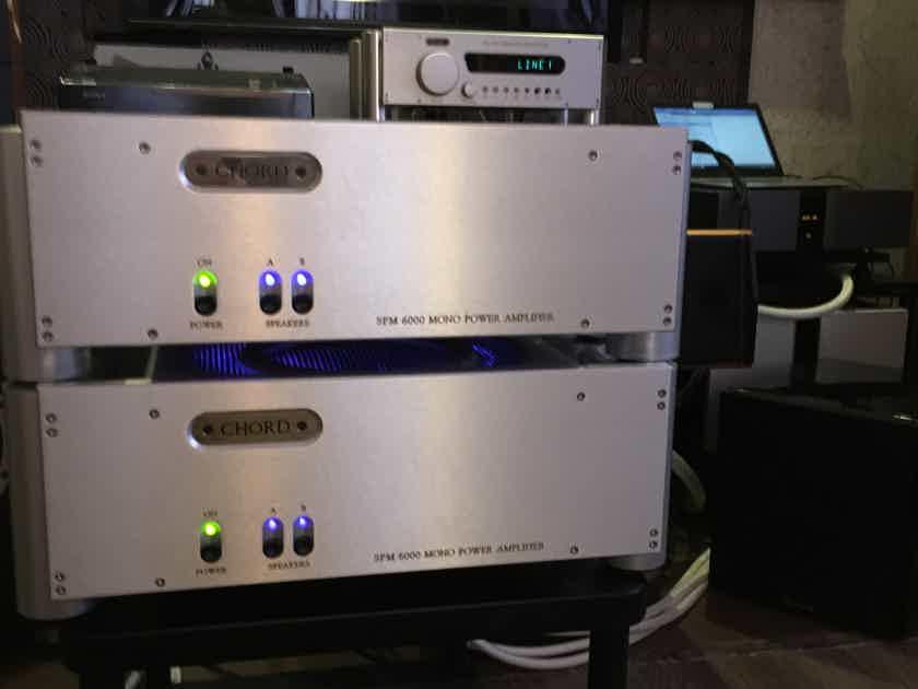 Chord Electronics Ltd. SPM-6000 Integra SPM 6000 Reference Mono Power Amplifier ( PAIR )