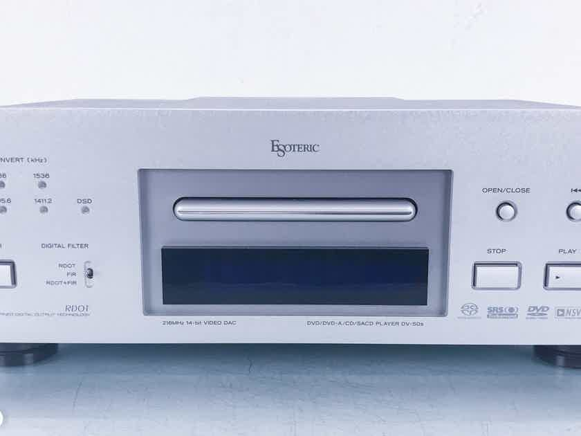 Esoteric DV-50s SACD / DVD / CD Player; DV50S (TEAC); AS-IS (Only CDs) (16886)
