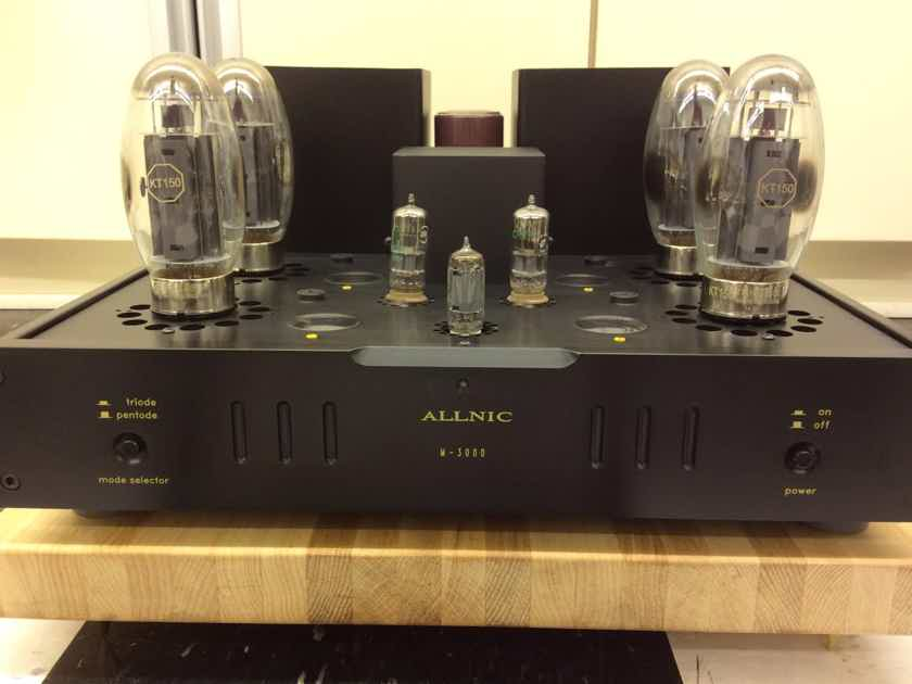 Allnic Audio M-3000 KT 150 Monoblock amplifiers