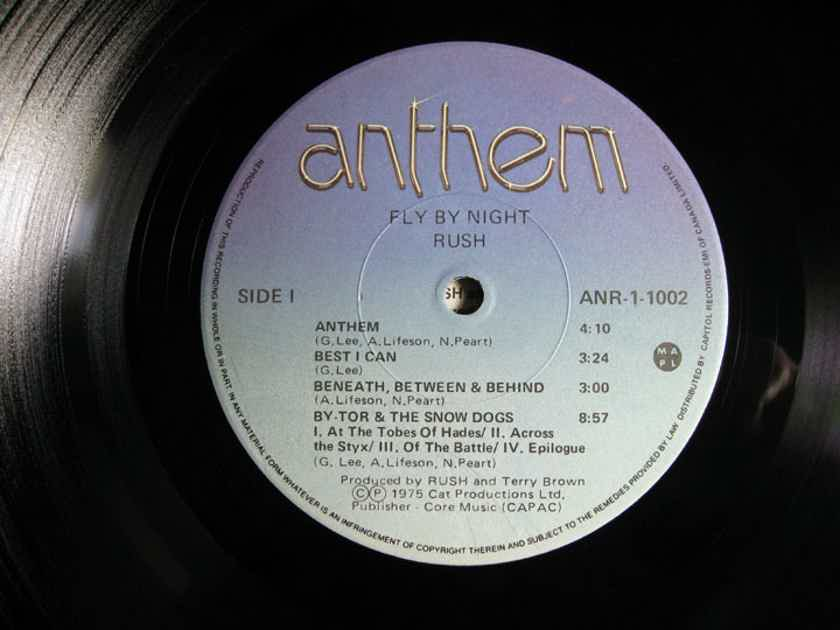 RUSH - Fly By Night - 1978 Canada Reissue ANTHEM ANR-1-1002