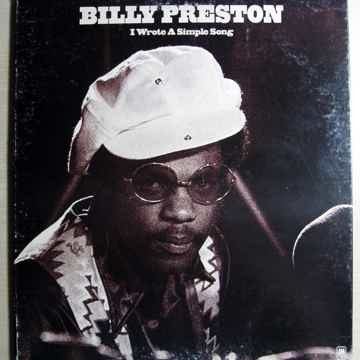 Billy Preston - I Wrote A Simple Song - A&M Records ‎SP...
