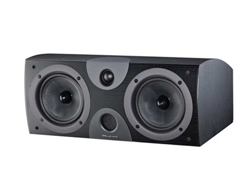 Wharfedale EVO 2-Center Channel:  (Black); Full Warranty; 67% Off; Free Shipping