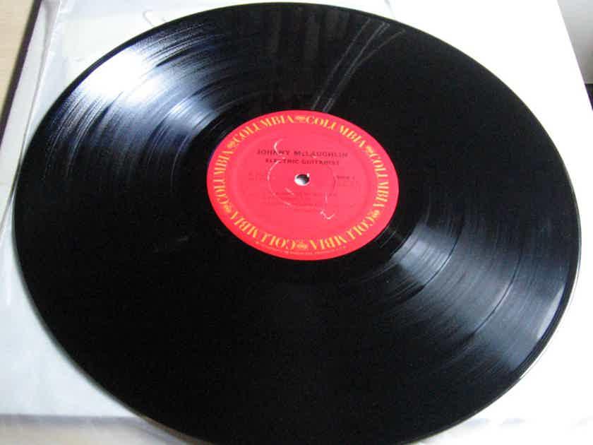 John McLaughlin - Electric Guitarist  1978 NM Vinyl LP Columbia JC 35326