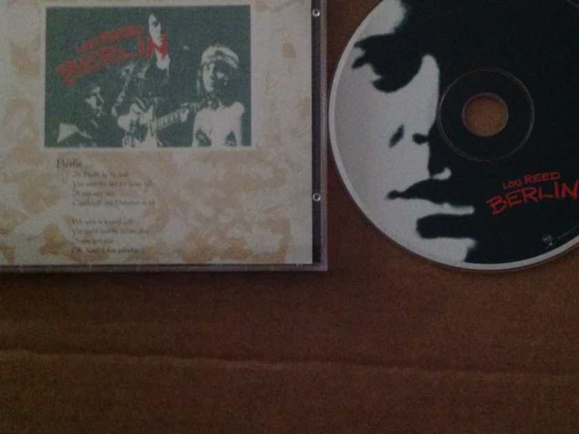 Lou Reed - Berlin RCA Records Compact Disc