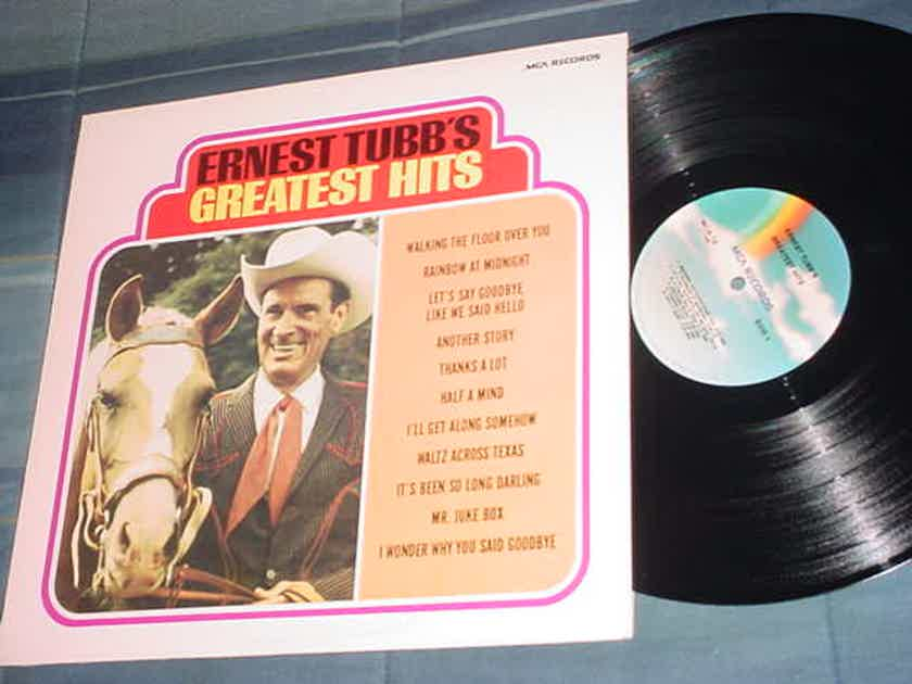 Ernest Tubbs greatest hits - lp record mca-16