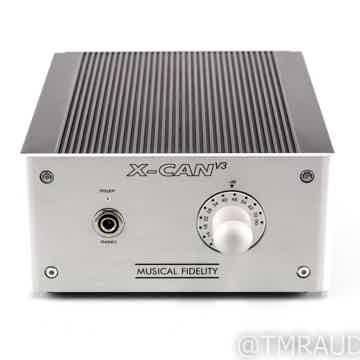 Music Fidelity X-CAN V3 Tube Headphone Amplifier
