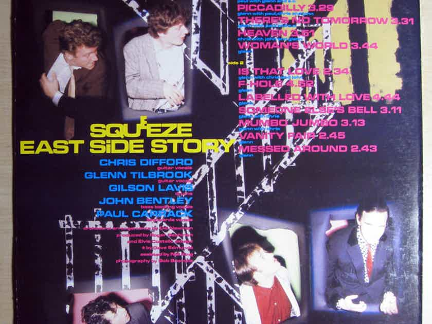 Squeeze - East Side Story 1981 NM Vinyl LP ISRAEL Import A&M Records AMLH 64854