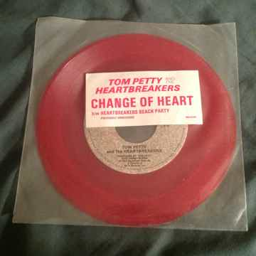 Tom Petty & The Heartbreakers Red Vinyl 45 With Picture...