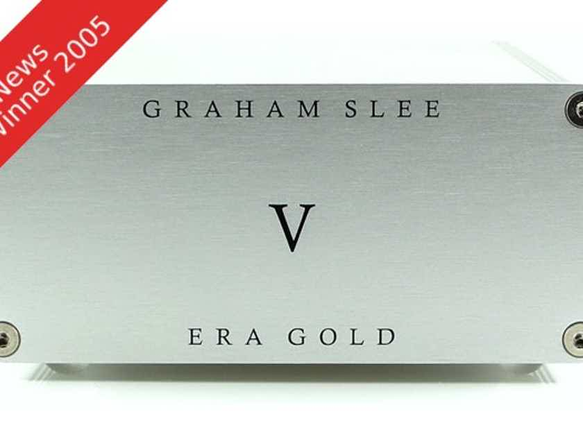 Graham Slee Era Gold V MM Phono Stage ** GREAT THEN & NOW ** SPECIAL WITH PSU1