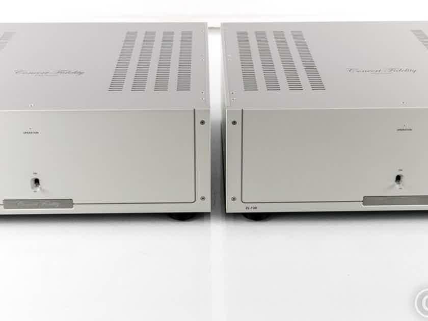 Concert Fidelity ZL120 FX Mono Power Amplifier; Pair; ZL-120FX (25367)