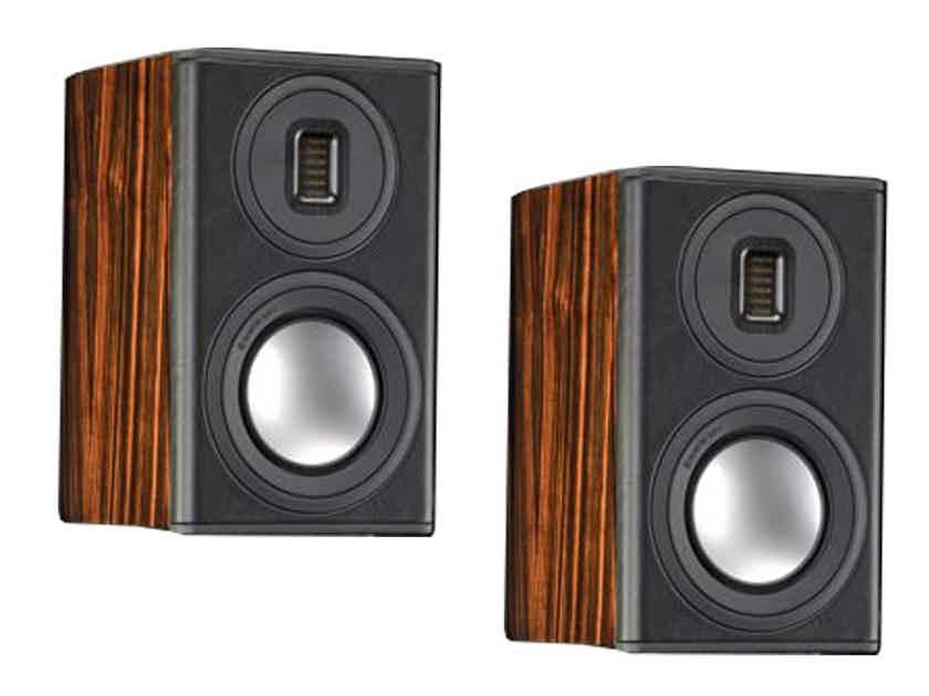 MONITOR AUDIO Platinum PL100 Series II Speakers (Ebony): Mint DEMO; 5 Yr. Warranty; 36% Off; Free Shipping