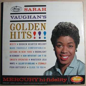 Sarah Vaughan - Sarah Vaughan's Golden Hits MG 20645