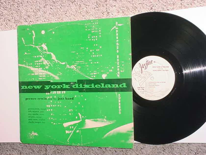 New York Dixieland lp record jazztone society - Pee Wee Erwin and his jazz band jazztone j-1237