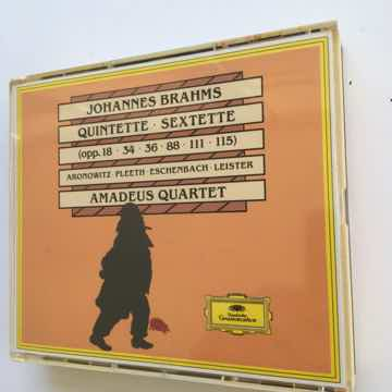 Johannesburg Brahms Quintette Sextette  Amadeus Quartet...
