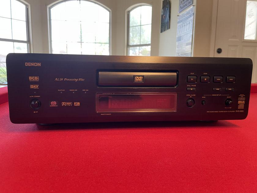 Denon DVD 5900 DVD/DVDA/SACD Audio DVD Video Stereo/Multi Channel