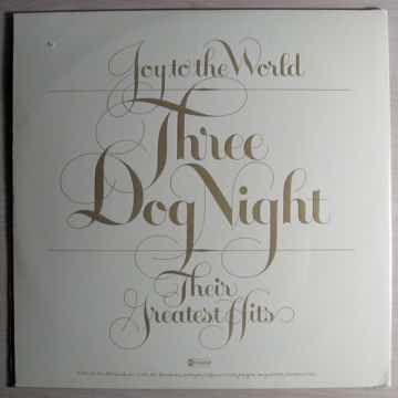 Three Dog Night – Joy To The World - Their Greates