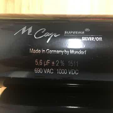 Mundorf Supreme Silver/Oil 5.6 uF 690 VAC