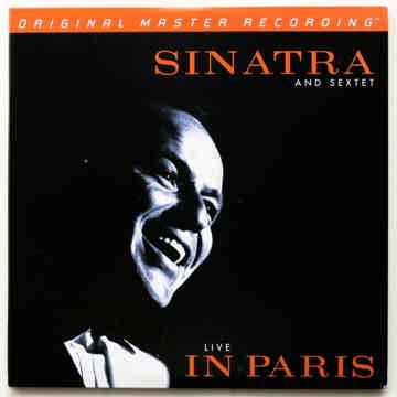 FRANK SINATRA SEXTET Live In Paris, MoFi  2LPs Ver Rare