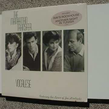 Vocalese lp record 1985